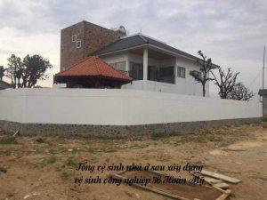 Tổng vệ sinh nhà ở sau xây dựng tại Thanh Hóa