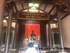 Vệ sinh nhà gỗ tại Thanh Hóa