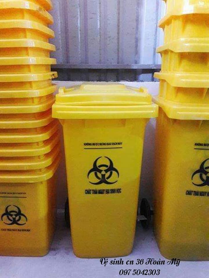 Thùng rác dành cho bệnh viện