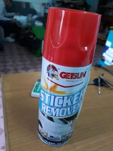 hóa chất tẩy keo sơn