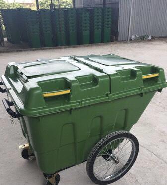 Xe thu gom rác tại Thanh hóa