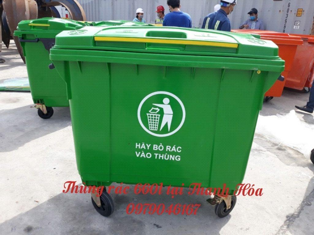 thùng rác 660 l tại Thanh Hóa