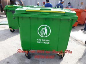 Thùng rác 660l tại Thanh Hóa