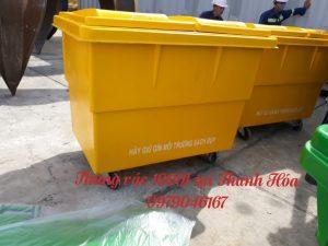 Thùng rác 1000l tại Thanh hóa