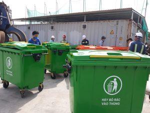 cung cấp thùng rác 660l tại Thanh Hóa