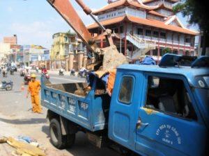 Dịch vụ vận chuyển chất thải