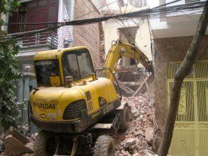 Dịch vụ phá dỡ nhà