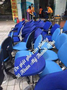 Dịch vụ giặt ghế văn phòng tại Thanh Hóa