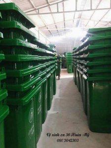 Thùng rác môi trường tại Thanh Hóa