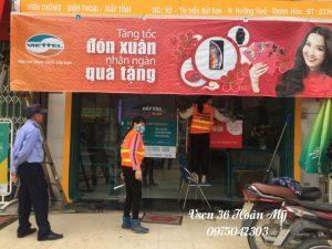 vệ sinh chuỗi cửa hàng Viettel Thanh Hóa