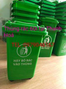 Thùng rác 60l tại Thanh Hóa